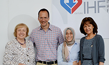 In the picture (from left to right): Minister of State Professor Maria Böhmer, Dr. Steffen Schneider, Dipl.-Ing. Belgin Özdemir-Cetinkaya, Senior Mayor Dr. Eva Lohse.